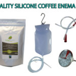 Quality Silicone Coffee Enema Kit with - 1.3m silicone tube, rectal tube, temperature gauge with Coffee enema grinds and full instructions - Australia - James Health 1000 Plus